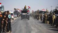 Irakisches Militär nimmt weite Teile kurdischer Region ein