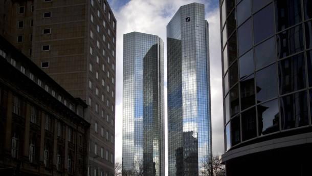 Anklage gegen Deutsch-Banker offenbar fertig