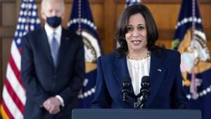 Kamala Harris soll die illegale Migration in den Griff bekommen