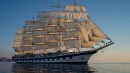 Beim Anblick von Segelschiffen werde ich sofort vom Fernweh befallen werde.
