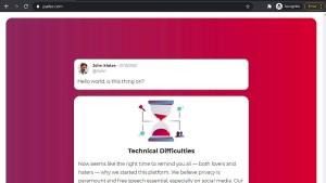 Twitter-Alternative Parler teilweise wieder online