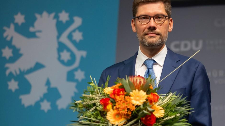 Christian Hirte, neuer Vorsitzender der CDU Thüringen