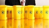 Nur ein duales System für die Entsorgung aus gelben Tonnen und Säcken fehlt Remondis noch.