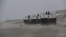 Nordseeküste muss sich auf Sturmflut einstellen