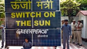 Umweltproteste unerwünscht