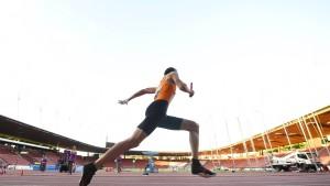 Einzelzeitlaufen für 400-Meter-Läufer