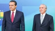 Dritter brasilianischer Minister tritt zurück