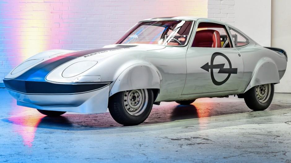 Blitz unter Strom: Opel Elektro GT von 1971