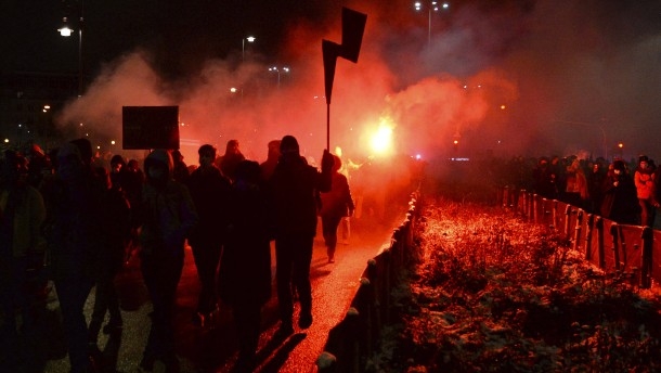 Massenproteste gegen Abtreibungsverbot in Polen