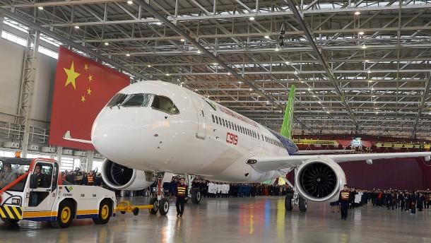 Stück für Stück baut China seine Flugzeugindustrie aus