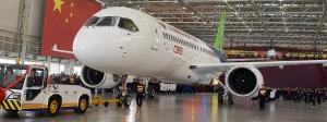Der C919 hat Platz für 160 Passagiere und soll noch in diesem Jahr seinen Jungfernflug absolvieren.