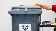 Vorbereitung der Wahlen: Sonntags als Erstes dasitzen und als Letztes gehen