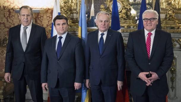 Steinmeier warnt vor neuer Eskalation in der Ukraine
