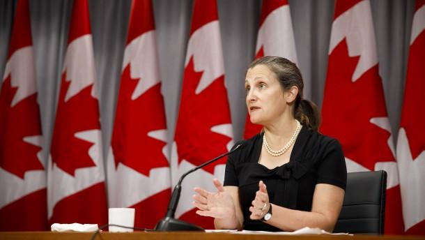 Kanada kündigt Vergeltungszölle gegen Vereinigte Staaten an