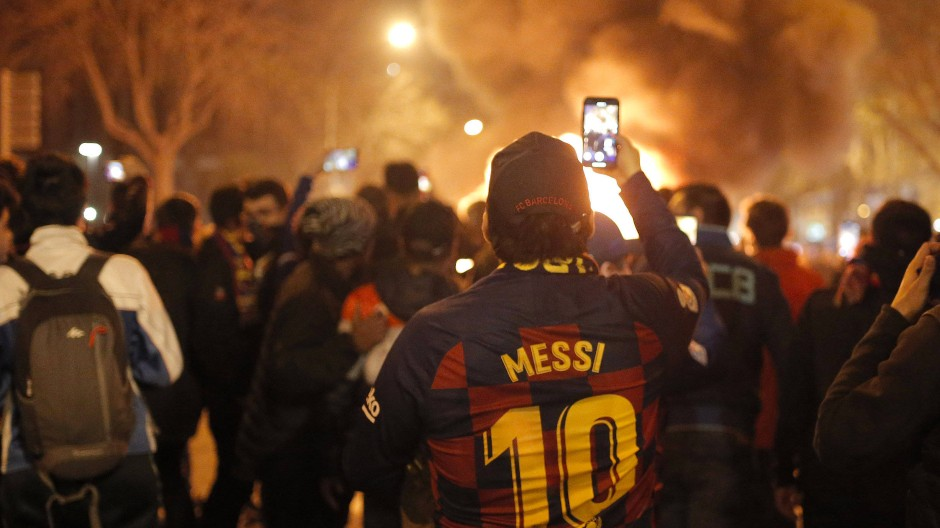 """Ausschreitungen überschatten """"Clásico"""" in Barcelona"""