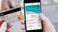Smartphone-App der Bank N-26