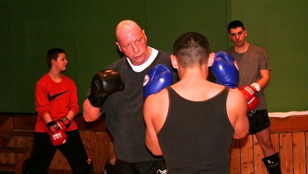 Straßenköter gegen Meisterboxer