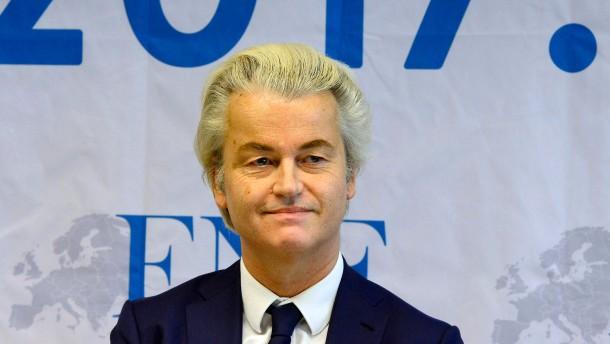 Geert Wilders sagt alle Wahlkampftermine ab