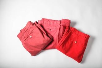 Rote hose weltumsegler