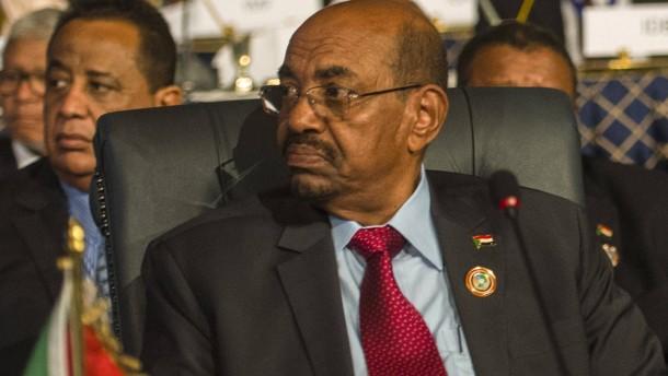 Sudans Präsident Baschir darf nicht aus Südafrika ausreisen