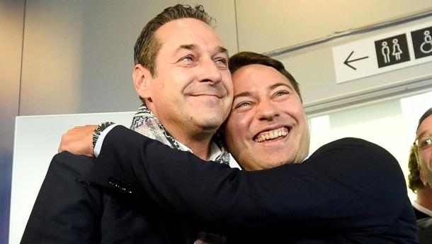 Triumph für asylkritische FPÖ in Österreich