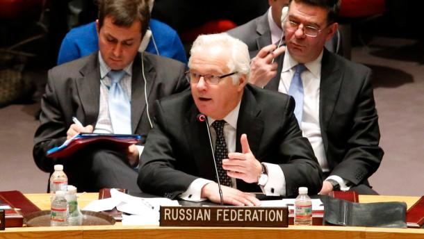 Russland am New Yorker Pranger