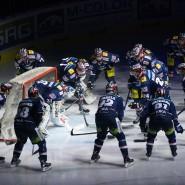 Nicht auf der Schattenseite: Die Berliner Eisbären sind in der DEL voll auf Halbfinalkurs.