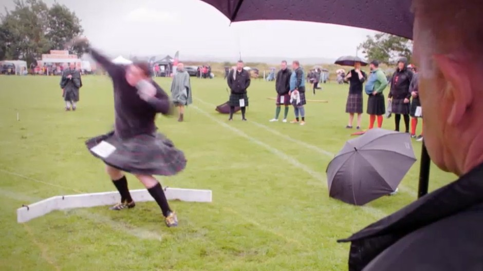 Die Highland Games in Schottland