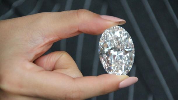Diamant für 13 Millionen Euro ersteigert und nach Tochter benannt