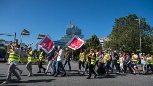 Der Organisationsgrad der Arbeitnehmer sinkt