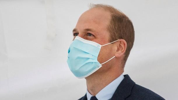 Prinz William litt offenbar unter schweren Symptomen