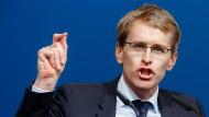 Günther will über 35 Prozent für CDU holen