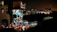 Lichtspektakel erzählt Geschichte
