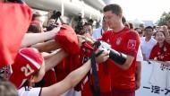 Die Münchner haben als erster deutscher Klub auf den Trend reagiert und reisen bereits zum fünften Mal nach China.