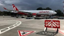Heute geht's um Air Berlin
