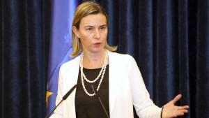 EU-Außenbeauftragte will auf Russland zugehen