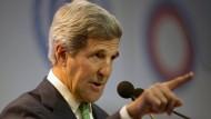 Amerikas Außenminister John Kerry auf der UN-Klimakonferenz in Lima