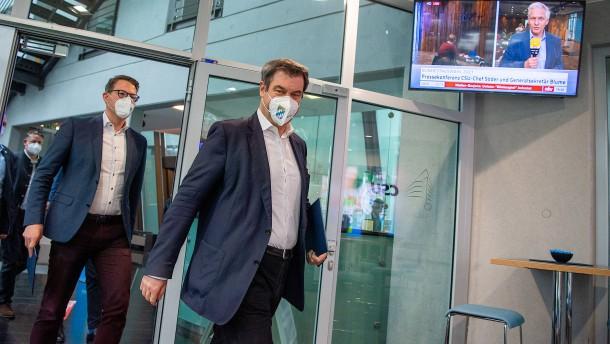 Markus Soder Aktuell News Von Heute Zum Politiker Faz