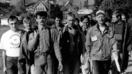 """""""Bischofferode ist überall"""": Vor 25 Jahren zogen die Kalikumpel aus dem thüringischen Bischofferode zum Protestmarsch nach Berlin."""