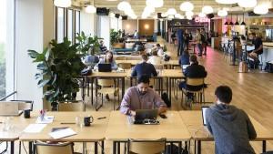 Büros mit Internet, Gratiskaffee – und Billardtisch