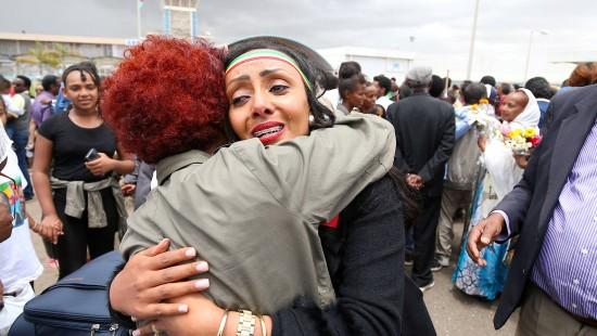 Flugverbindung zwischen Äthiopien und Eritrea