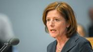 Malu Dreyer (SPD) während der Sondersitzung des rheinland-pfälzischen Landtags