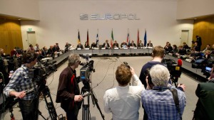 Europol press conference on match fixing investigation