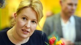Franziska Giffey soll für die SPD ins Kabinett
