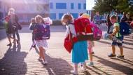 Erster Schultag in Schwerin am Montag
