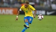 Neymar hatte einen starken Auftritt