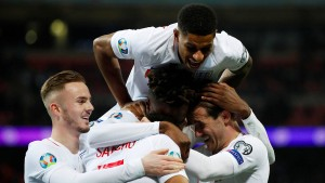 England und Ronaldo in Torlaune