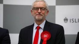 Corbyn kündigt seinen Rückzug an