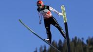 Immerhin ein sechster Platz: Markus Eisenbichler in Oberstdorf