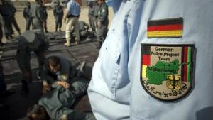 Deutsche Polizisten sollen noch im April abgezogen werden